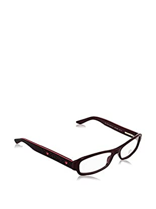 Christian Dior Montura 3082 (53 mm) Marrón Oscuro / Rojo