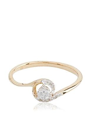 PARIS VENDÔME Ring Bouton De Rose Diamants