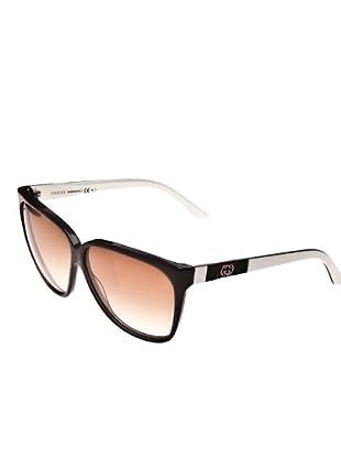 GUCCI Gafas negro / blanco