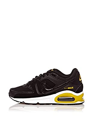 Nike Zapatillas Air Max Command (Gs) (Negro / Amarillo)