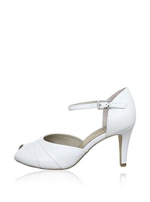 Caprice  Zapatos Peep Toe Ana (Blanco)