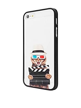 Unotec Funda Crazy Cat iPhone 5 / 5S Negro