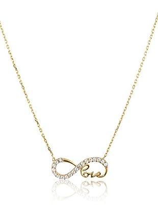 Córdoba Joyeros Collar  plata de ley 925 milésimas bañada en oro