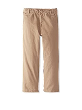 Kitestrings Boy's Brushed Twill Flat Front Pant