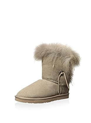 Koolaburra Women's Trishka Short Fur Boot (Seta)