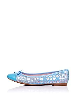 Bisue Bailarinas Lazo (Azul)