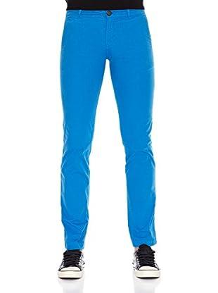 Six Valves Pantalón (Azul Eléctrico)