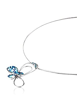 SWAROVSKI ELEMENTS Collar Butterfly Cielo