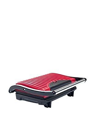 Non-Stick Grill and Panini Press - Red