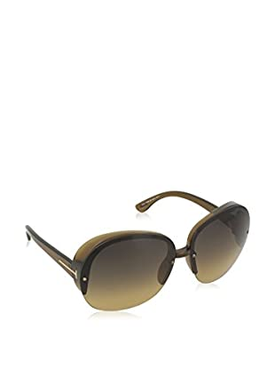 Tom Ford Sonnenbrille FT0458-96P68 (68 mm) dunkelgrün
