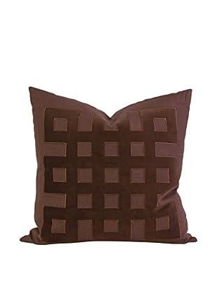 Kavita Linen Applique, Brown