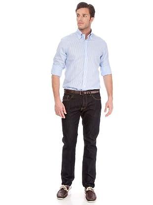 Arrow Camisa Boyd (azul / blanco)