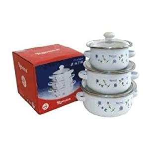 Saleshop365 Set Of 3 Casseroles - A Perfect Gift And Utility Item