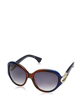 Alexander McQueen Sonnenbrille AMQ4217/S (56 mm) blau/braun