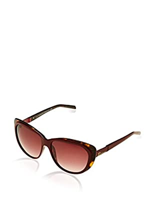 John Galliano Sonnenbrille JG0067 (58 mm) bordeaux/havanna