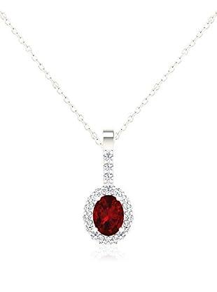 Diamant Vendome Conjunto de cadena y colgante DVP10856 Oro Blanco