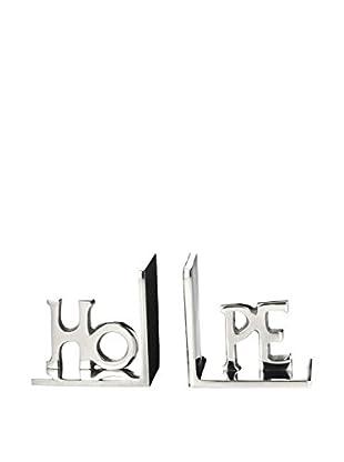Braid Concept Buchständer 2er Set aluminium