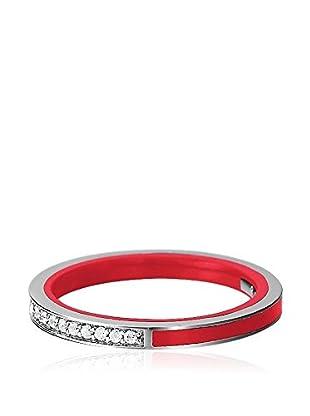 Esprit Anillo Marin Silver Glam Red