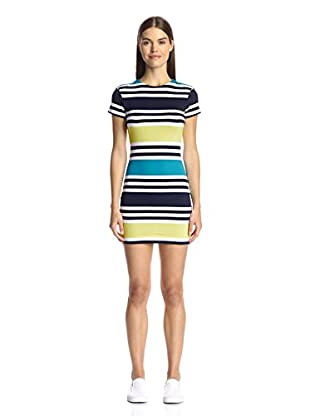 French Connection Women's Multi Stripe Dress