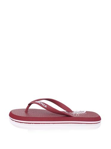 Nautica Men's Del Rey Sandal (Red)