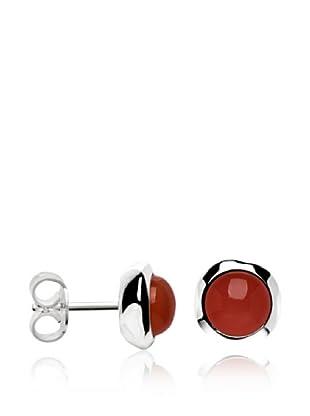 Marc O´Polo Ohrringe Silber rot