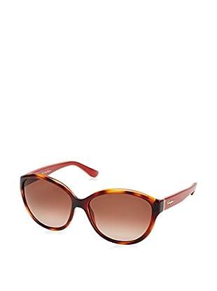 Ferragamo Sonnenbrille 717S_207 (58 mm) havanna/rot