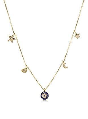 Melin Paris Collar Gold Good Luck Eye Lucky Dorado