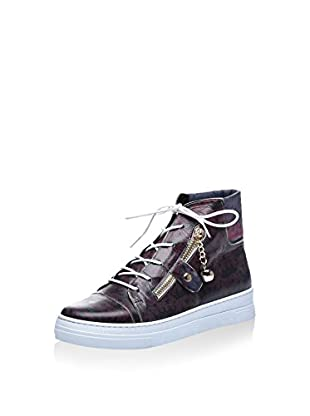 Los Ojo Hightop Sneaker Crown