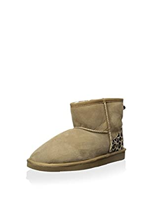 Pegia Women's Classic Mini Boot with Leopard