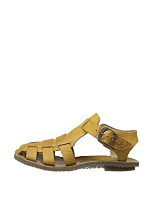 Fly London Sandalias Bow Gladiator (Mostaza)