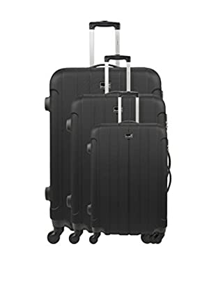 BLUESTAR Set 3 Trolley Rigido Napoli