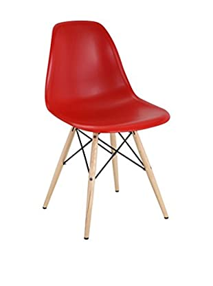 Modway Pyramid Dining Side Chair (Red)