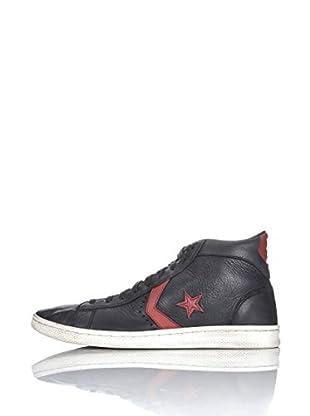 Converse Zapatillas Pro Leather Varvatos (Negro / Rojo)