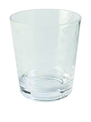Pebbled Acrylic Double Old Fashioned Glass, Clear