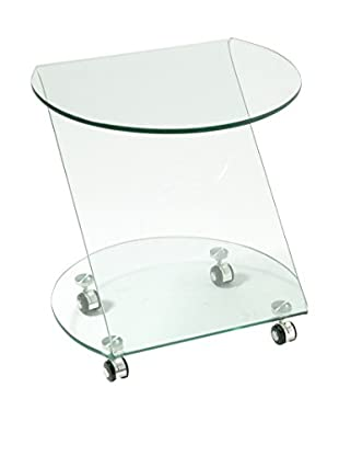 Special tables & Chairs Mesa Auxiliar Andrey Transparente