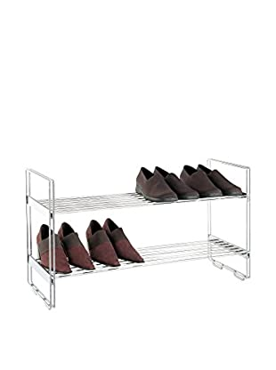 Organize It All Shelf Stacker, Chrome