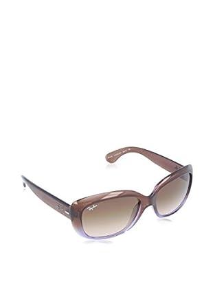 Ray-Ban Gafas de Sol Jackie Ohh 4101-860 (58 mm) Marrón / Lila