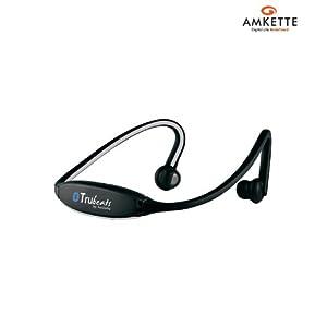 Amkette Trubeats Air Bluetooth Wireless Headset (Grey)