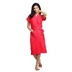 Sand Dune Women's Cherry Bathrobe