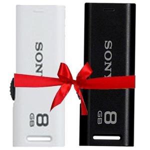 Sony 8 GB Classic(Black)+Sony 8 GB Classic(White) Pen Drive