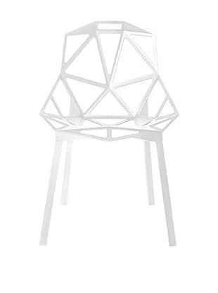 Magis Stuhl 2er Set Chair One weiß