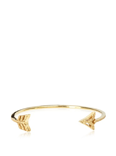Eddera Golden Arrow Cuff