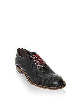 British Passport Zapatos Oxford Plain Whole Cut