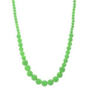 The Crazy Neck Plain Beads Neck Piece Necklace