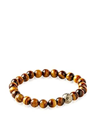 Stephen Oliver Men's Tiger Eye Bracelet