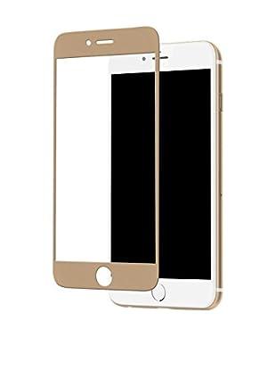 ZZ-UNOTEC Protector De Pantalla Full Cover iPhone 7 Dorado