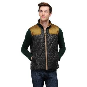 Yepme Men's Jacket - Black & Brown
