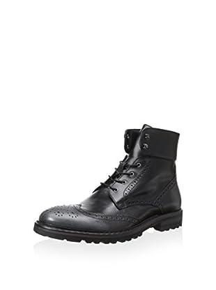 Dino Bigioni Men's Wing Toe Laced Boot (Grey/Nero)