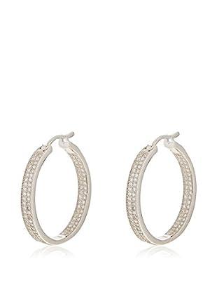 ANDREA BELLINI Ohrringe Créole Intriguante Sterling-Silber 925