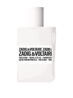 ZADIG&VOLTAIRE Damen Eau de Parfum This Is Her 100 ml, Preis/100 ml: 63.95 EUR